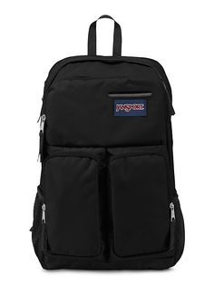 The new JanSport Splice Backpack in Black from the Digital Collection. Keep all your accessories protected with the all new Splice.