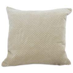 Chenille Spot Cushion Filled Cream