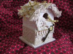 Ornamental Birdhouse Pen and Pencil Holder (Patent Pending)Victorian Style. $24.99, via Etsy.
