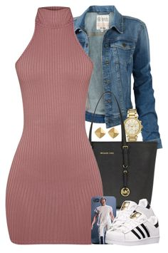 A fashion look from April 2016 by power-beauty featuring Fat Face, adidas, Michael Kors and Vince Camuto Teen Fashion Outfits, Mode Outfits, Look Fashion, Fall Outfits, Summer Outfits, Party Outfits, Fashion Clothes, Fashion Spring, Winter Fashion
