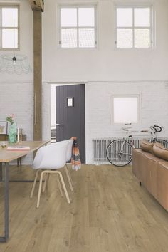 "Quick-Step Impressive Ultra ""Soft oak natural "" (IMU1855) Laminate Flooring - www.quick-step.com"