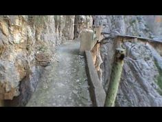 Another Must do hike. El Caminito del Rey, Spain. My hands get clammy just watching this!