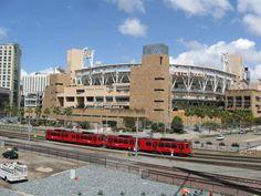 "Petco Park (aka ""Bark Park""), home to the MLB San Diego Padres..."