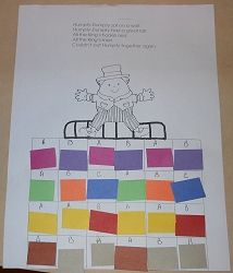 Lots of different ideas for different Nursery Rhymes