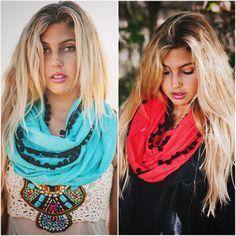 Looking for last minute holiday gifts? Shop our website at www.elizabetkoh.com and use the code Holiday50 to get 50% off your entire purchase! Order by Saturday night to make sure your order arrives by Christmas! These Buddha infinities are GREAT gifts for sisters and girlfriends!! #elizabethkoh #infinityscarf #pompom #sageerickson #ethicallymade #scarf #girlfriendgift #giveback  #etsygift #holidays #trending #fashiontrend #christmasgift www.elizabetkoh.com