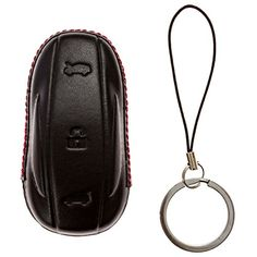 Tesla key fob case made from genuine leather and handcrafted for a perfect snug fit. It has a hole to show the tesla logo on the key fob. This is the most styilish keyfob cover in the market because it is made in perfectly fit and follow the lines of the key. make it fit like a glove. Keep you... see more details at https://bestselleroutlets.com/automotive-parts-accessories/product-review-for-key-fob-sleeve-for-tesla-model-x-car-key-case-designed-for-perfect-snug-fit-genuine-