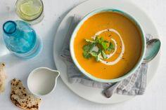 Indian pumpkin and bean soup