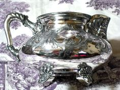 Antique Silverplate Creamer Barbour Brothers 1892-1898 Victorian #BarbourBrothers