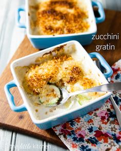 Zucchini Gratin from The Little Kitchen  made by @Julie | The Little Kitchen