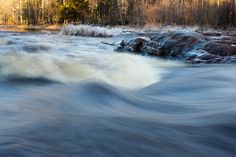 Flowing water by Waterfall, Waves, Mountains, Nature, Outdoor, Outdoors, Naturaleza, Waterfalls, Ocean Waves