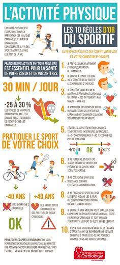 Activité Physique : les 10 règles d'or du sportif