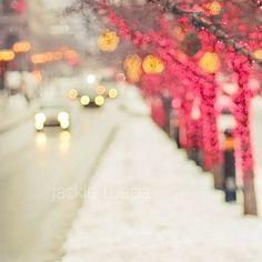 Montreal in winter by Jackie Rueda