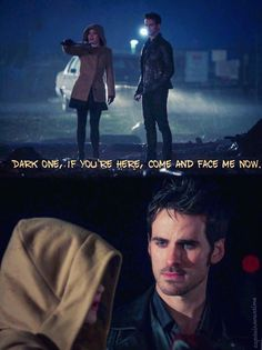 I loved the dynamics of this scene, especially how Colin plays Gold so well