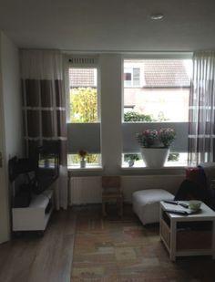 Dupligordijnen vrijhangend. Verkrijgbaar bij Deco Home Bos in Boxmeer
