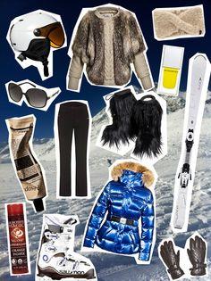 Seid ihr auch schon im Winter-Urlaub oder seid ihr gerade am planen? Hier ein paar Styling-Vorschläge für ein Ski-Outfit:  http://hauptstadtmutti.de/fashion/auf-die-piste-ski-outfit-mit-bling-bling