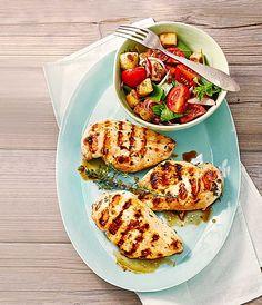 Huhn mit Zitrone und Thymian - perfekt für den Grill