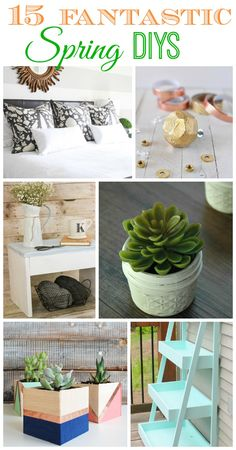Fab Spring DIY Projects {DIY Challenge Features}