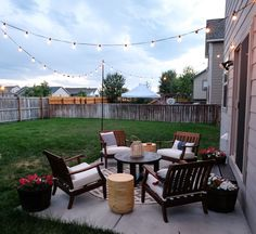How to make the most out of a small patio with the right design style! See how I transformed our small outdoor space into a functional patio for entertaining. #outdoorliving #patiodesigns #outdoordecor