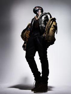Nick Knight captures Kanye West for L'Officiel Homme magazine