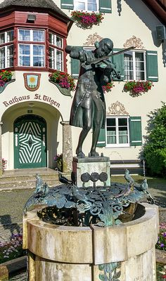 Statue Of Young Wolfgang Amadeus Mozart In St. Gilgen, Austria by Elenarts - Elena Duvernay photo Amadeus Mozart, Austria Travel, Famous Places, 18th Century, Statue Of Liberty, Travel Photos, Fine Art America, Canvas, House Styles
