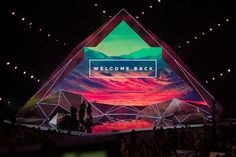 Mount Zion Colour 2013 Stage Design: Hillsong Collected