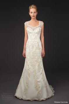 winnie couture bridal 2014 blush label stellina illusion cap sleeve wedding dress