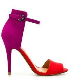#color block sandals from zara.