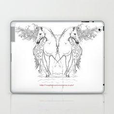 Horses  Laptop & iPad Skin by Magdalena Almero - $25.00
