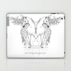 Horses  Laptop & iPad Skin by Magdalena Almero - $25.00