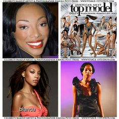 It was a pleasure doing the makeup for American Top Model the beautiful contestant Bianca Golden. She's wearing my classic bronzed shadow, bronzed skin and a red lip. Book your special event, fashion show, photo shoot, wedding or glam makeup with me, Joanna Petit-Frere, Boston celebrity Makeup Artist Please visit www.visage-1studios.com for more of my makeup artistry and photography.