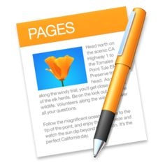 Apple Pages 6.3  Apples word processor from the iWork suite.