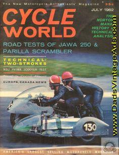 1962 Road Tests of Jawa 250 & Parilla Scrambler Motorcycles