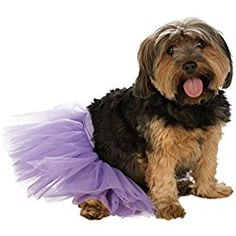 Rubie's Dog Dress Tutu, Small to Medium, Purple