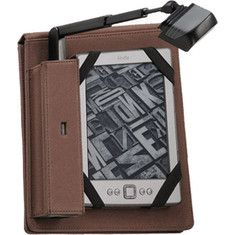 Periscope Cover & Light Flip Kindle/Touch & Nook Touch - Brown