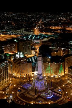 Indianapolis, IN. I have been here twice. Once in a road-trip and once for a career fair. The city was beautiful, but the roads were confusing.