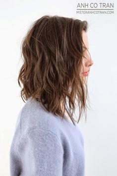 MOVEMENT + TEXTURE. Cut/Style: Anh Co Tran • IG: @anhcotran • Appointment inquiries please call Ramirez|Tran Salon in Beverly Hills at 310.724.8167.