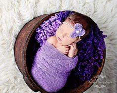 Stretch wrap - 'IRIS' newborn stretch wrap  / scarf - prop blanket - knitbysarah - Stitches by Sarah