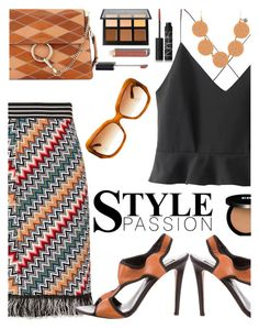"""""""Style Passion"""" by juliehooper ❤ liked on Polyvore featuring WithChic, Missoni, Diane Von Furstenberg, Chloé, Anastasia Beverly Hills, Edward Bess, Chanel, NARS Cosmetics and Oliver Peoples"""