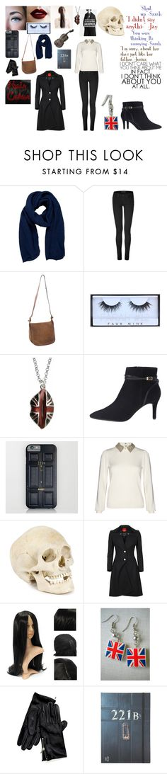 """Sherlock: Descendant (Sarah)"" by dove-malfoy ❤ liked on Polyvore featuring Pieces, Juicy Couture, Coach, Huda Beauty, Lulu Guinness, Rockport, Alice + Olivia, Vivienne Westwood and Tommy Hilfiger"