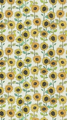 Sunflower wallpaper, sunflower pattern, pattern flower, cute backgrounds, p Cute Backgrounds, Cute Wallpapers, Wallpaper Backgrounds, Pattern Wallpaper Iphone, Artsy Wallpaper Iphone, Wallpaper Art, Iphone Backgrounds, Desktop Wallpapers, Wallpaper Quotes