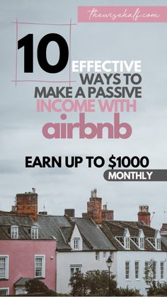 How to make money with Airbnb with or without property. Here are 10 of the best ideas and tips on how to become an airbnb host. With or without property. Start a passive income with airbnb Work From Home Careers, Work From Home Tips, Make Money From Home, Make Money Online, How To Make Money, Get Paid Online, Best Online Jobs, Easy Passwords, Airbnb Host