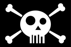 Pirate Skull, Skull And Bones, Pirates, Skulls