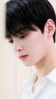 is there any chance that this boy wouldn't look good? i guess none Handsome Korean Actors, Handsome Boys, Suho, Kpop, Saranghae, Cha Eunwoo Astro, Astro Wallpaper, Lee Dong Min, Lee Jong Suk