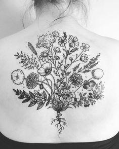 Icelandic wildflowers for Alma today. Takk  . . . #tattoo #tattoodesign #ink #flowers #wildflowers #flora #flowertattoo #floraltattoo #linework #auduryrtattoo #icelandtattoo #apprenticetattoo #islenzkahudflurstofan