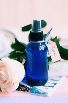 DIY: rose moisturizing spray + 5 benefits of rosewater
