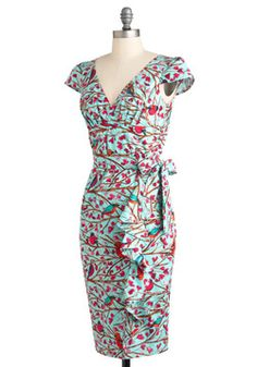 The Tweet-est Thing Dress, #ModCloth sara