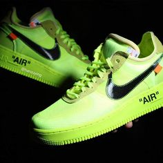 3aa658cba9d917 Close Up with the Off-White x Nike Air Force 1  Volt  Air