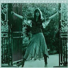 Carly Simon Anticipation on Numbered Limited Edition Hybrid SACD from Mobile Fidelity Carly Simon's Gold-Selling Anticipation Steeped In Romantic Yearning: Largely Biographical Record Boldly Addresses