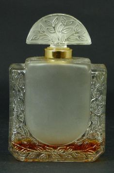 R. LALIQUE Art Deco Perfume Bottle