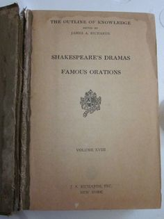 1st Edition 1st Printing Shakespeare's Dramas by Gementia13Jewels, $65.00